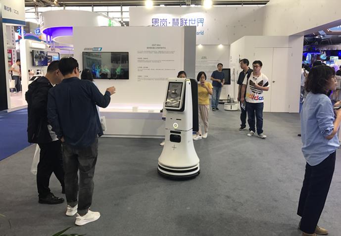 智能广告导引机器人Jupiter
