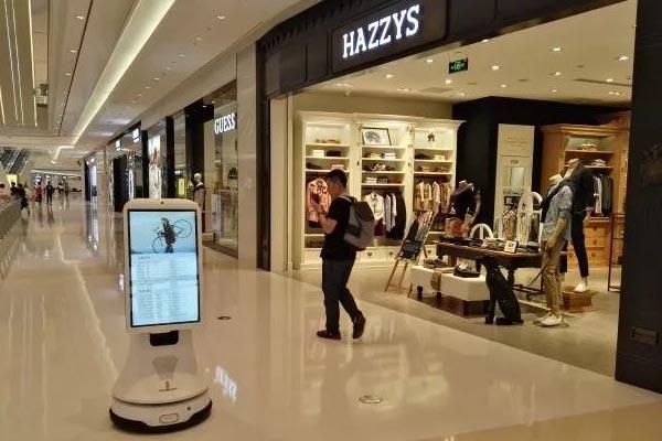 应用于商场的轮式机器人底盘ZEUS