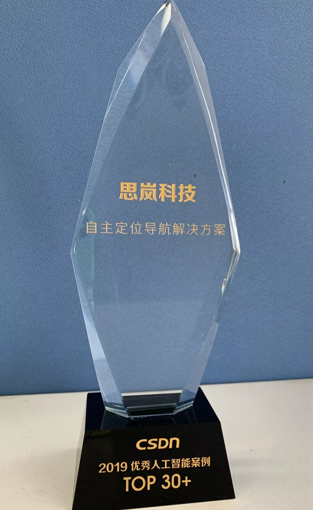 思岚科技荣获【最佳机器人AI贡献奖】