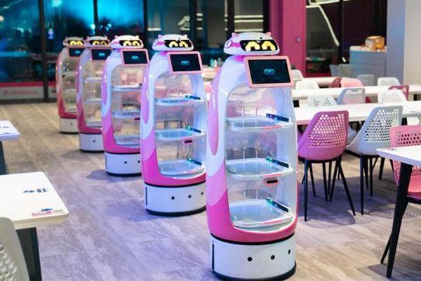 碧桂园送餐机器人