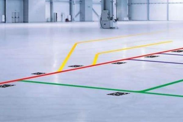 机器人底盘导航方式-路标导航