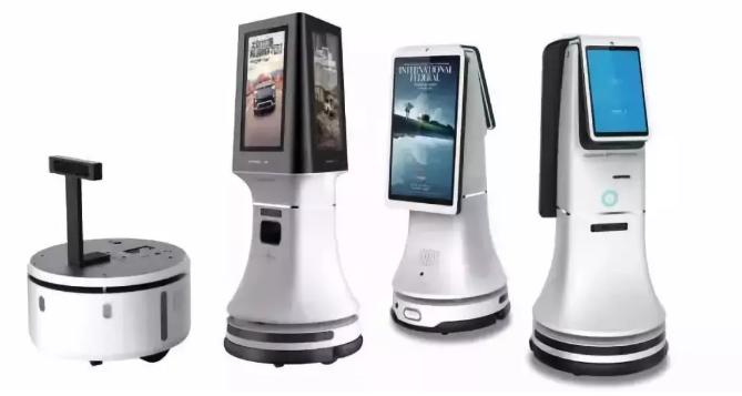 中国企业机器人大放异常