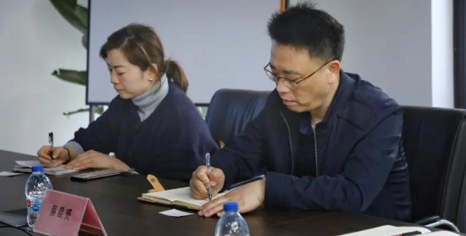 热烈欢迎浦东新区工商联调研组走访思岚科技