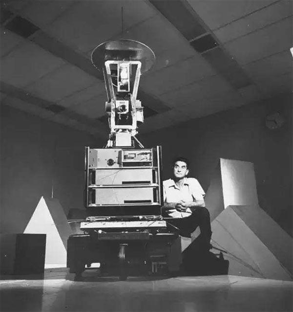世界上第一台移动机器人