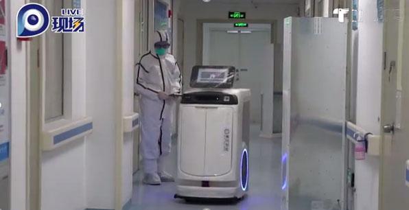 相当于3个配送员的医用送药机器人