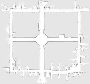 SLAM技术构建的地图