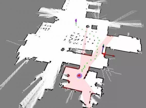 思岚机器人路径规划图
