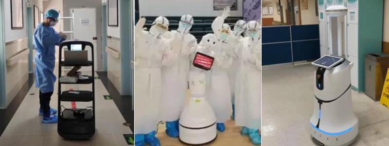 抗议中的自主移动机器人