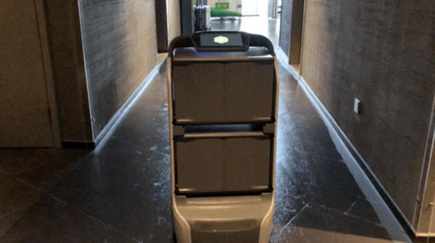 酒店无人配送机器人