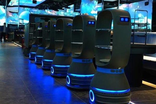 花生系列餐饮服务机器人