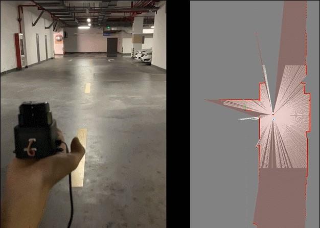 思岚科技激光雷达建图展示