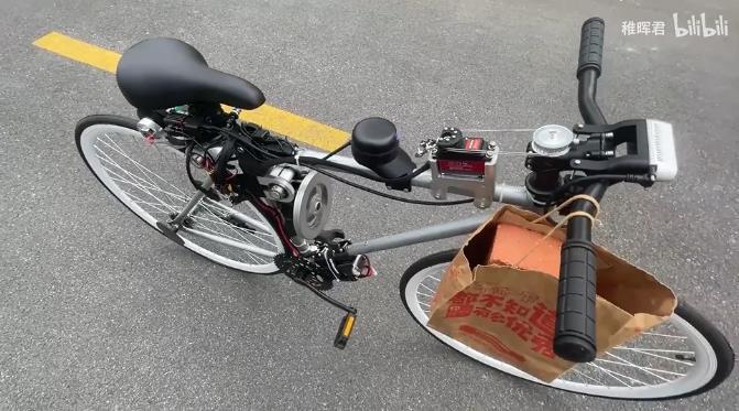 自动驾驶自行车