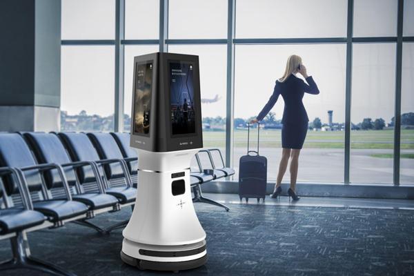 思岚科技服务机器人