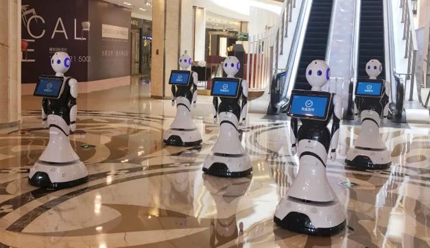 商场导引机器人
