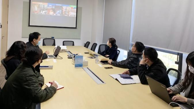 上海市經信委人工智能處領導小組蒞臨調研