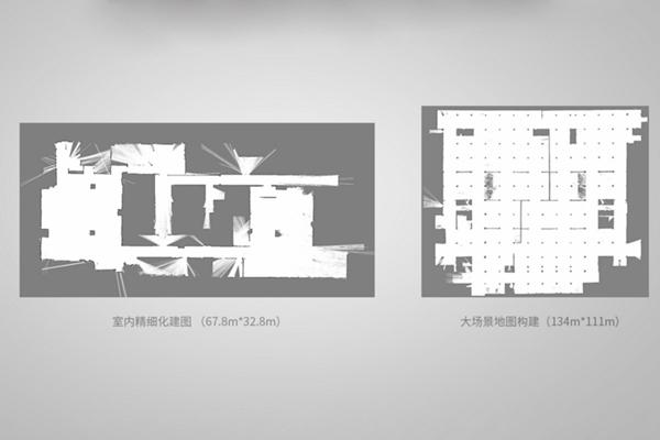 地图均为Slamtec Mapper手持构建