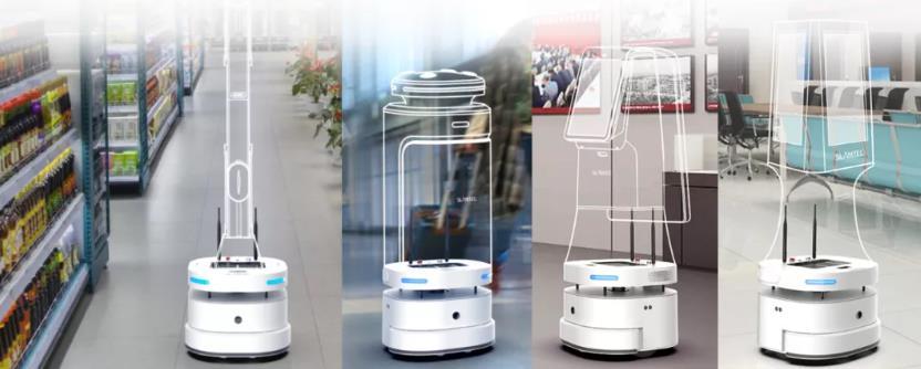思岚机器人底盘应用案例