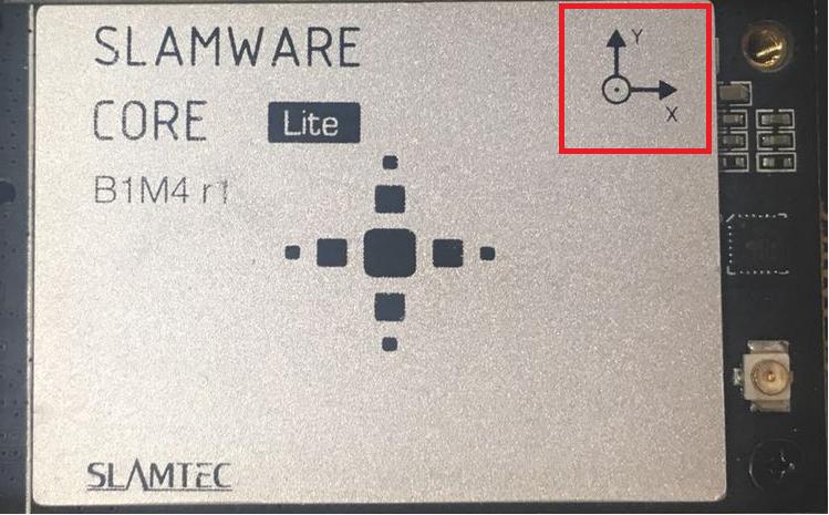 SLAMWARE定位导航模块必须水平放置