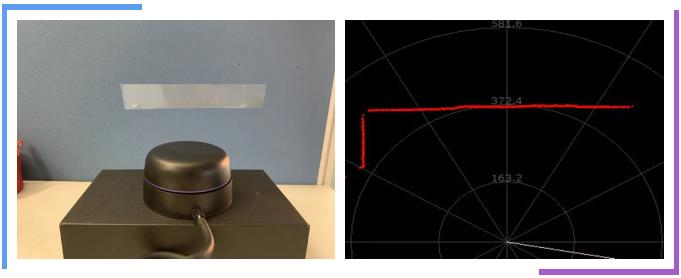 RPLIDAR应对高反材质检测