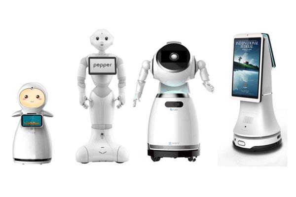 思岚服务机器人应用案例图