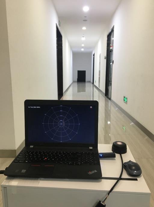 激光雷达传感器实际检验效果